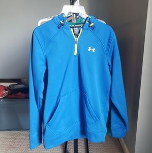 Under Armour mens M top zip polyester jacket